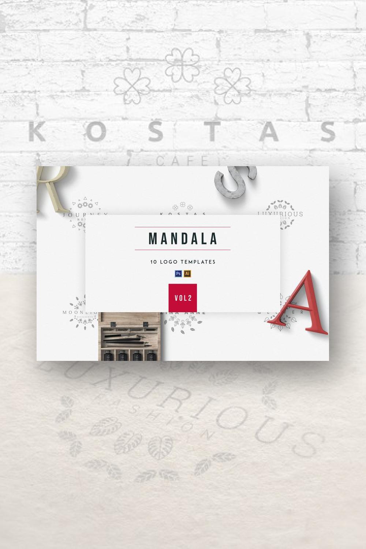 02. Mandala Logo Creator Mandala 10 Logo Templates Pinterest images.