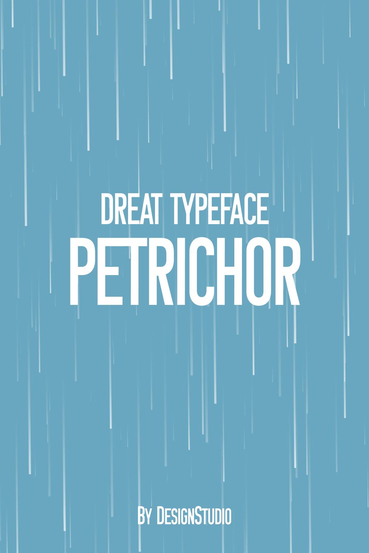 Petrichor Monospaced Sans Serif Font Pinterest Preview.