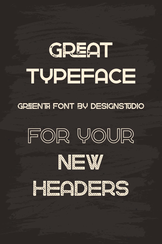 03. Greenth Display Latin Cyrillic Font 1000 x 1500