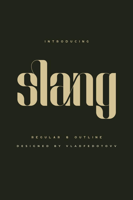 03. Slang – Classic Ligature Font 1000 x 1500