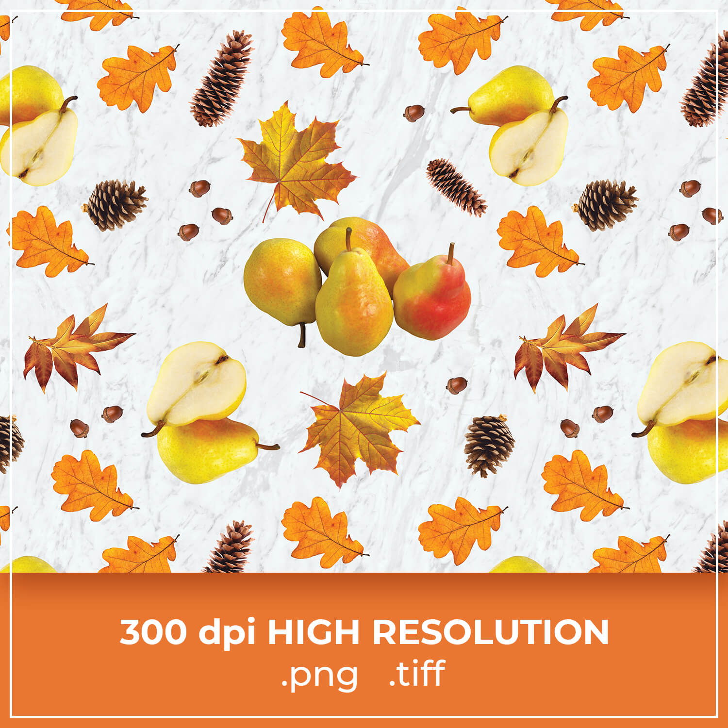 Free Thanksgiving Pear Pattern cover image.