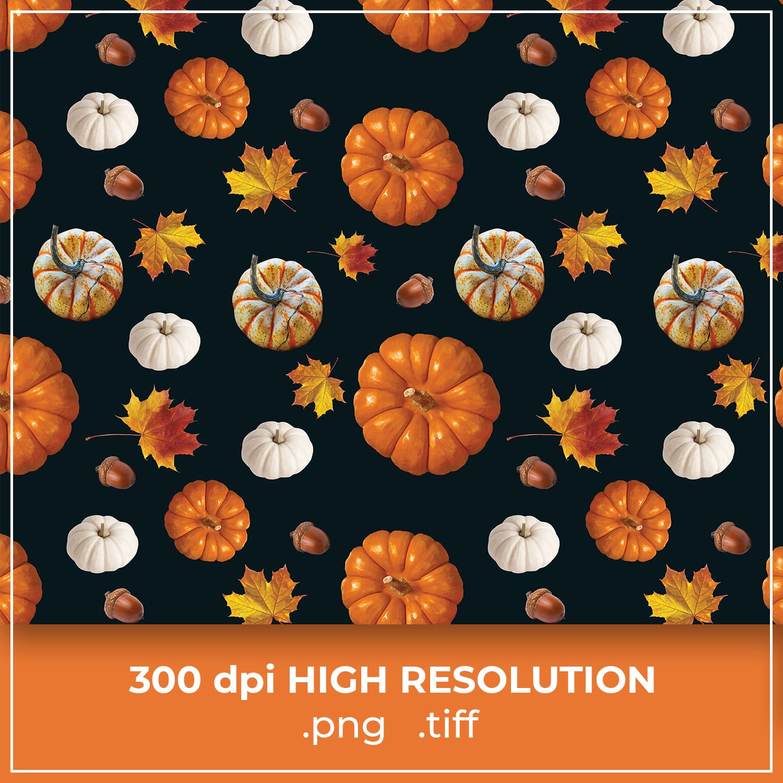 Thanksgiving Pumpkin Pattern cover image.