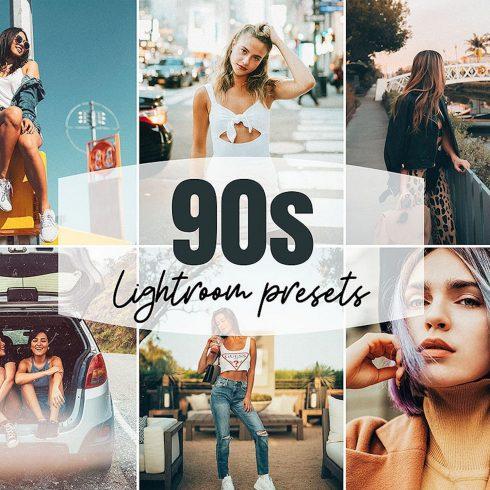 90s Lightroom Presets Mobile & Desktop cover image.