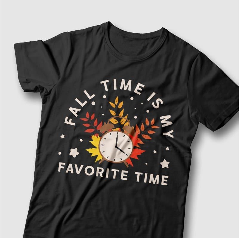 50 Autumn Fall T-shirt Designs Bundle, Autumn inspiring quotes preview image.