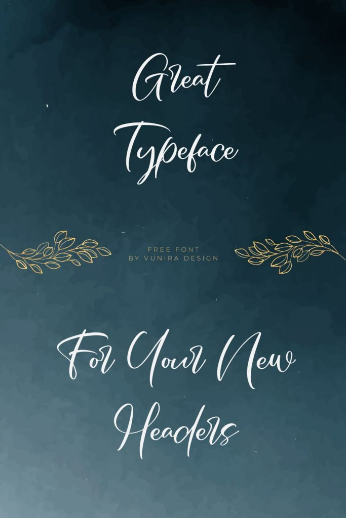 Awesome Free French Font Pinterest Collage Image.