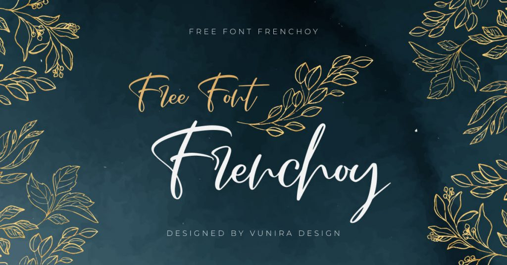 Beautiful Facebook Free French Font Collage Image by MasterBundles.