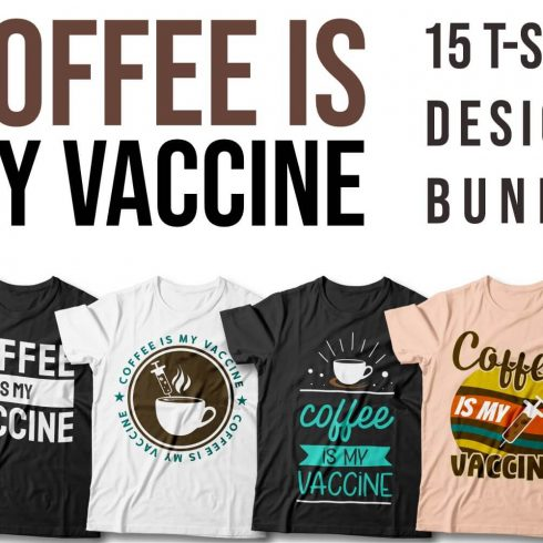 Coffe is My Vaccine facebook Cover.