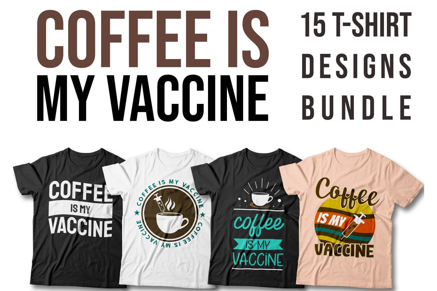 Coffe is My Vaccine Cover