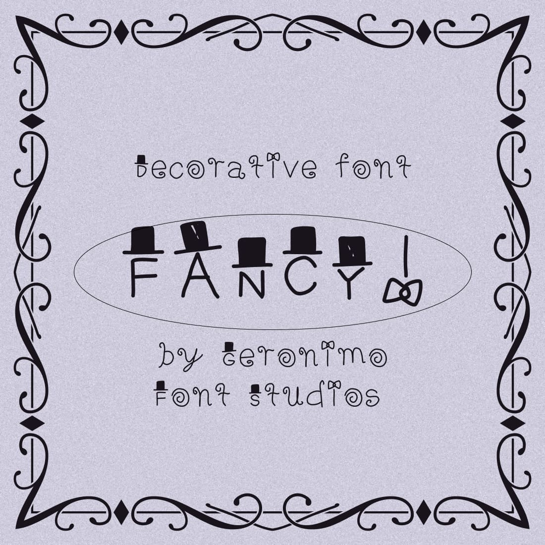 Decorative Free Fancy Font Preview by MasterBundles.
