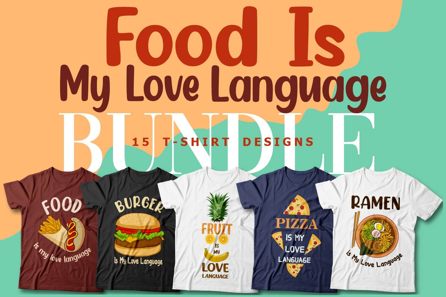 Food is My Love Language Cover