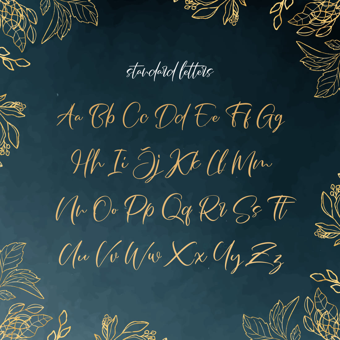 MasterBundles Free French Font Cover with Letters Preview.