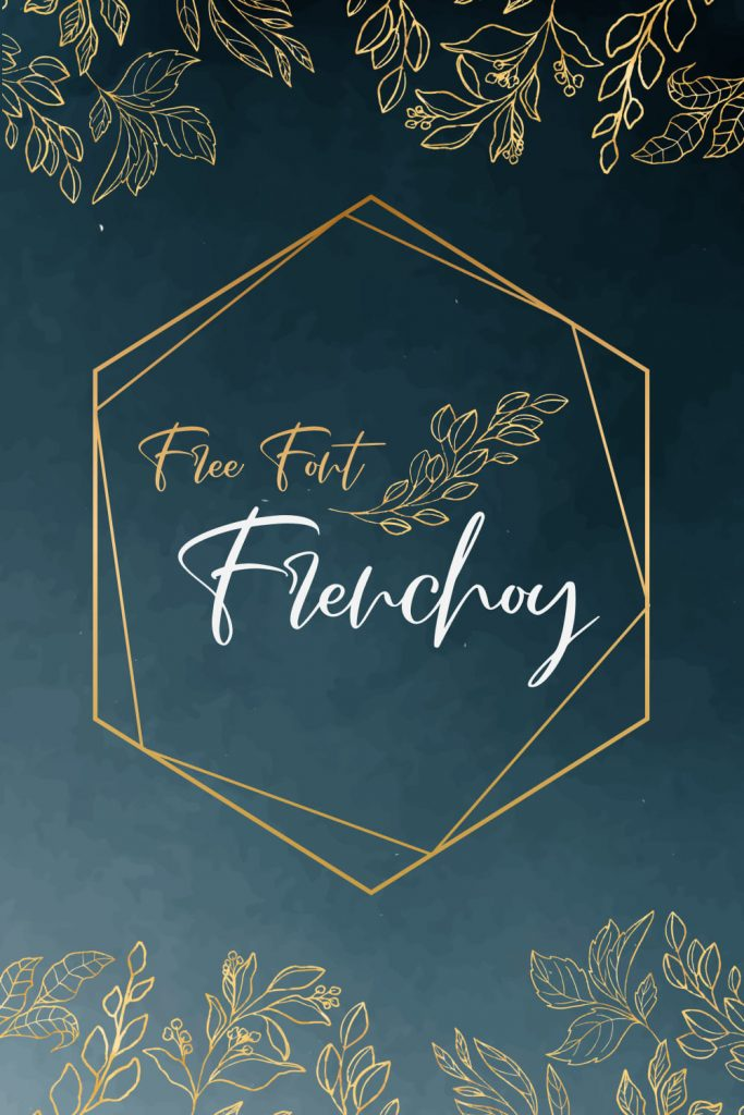 Magical Free French Font Pinterest Collage Image by MasterBundles.