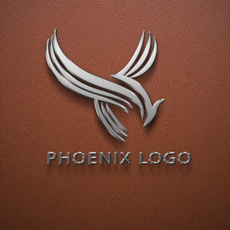 Pheonix Logo Design Template cover image.