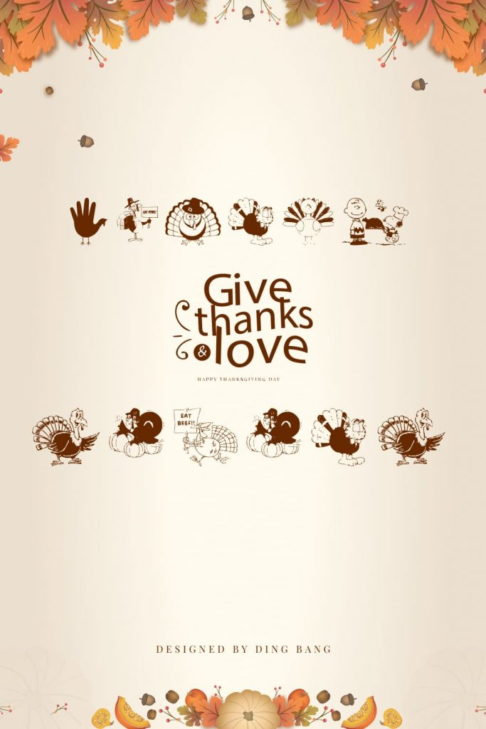 Thanksgiving Turkey Free Symbol Font Awesome Pinterest Preview.
