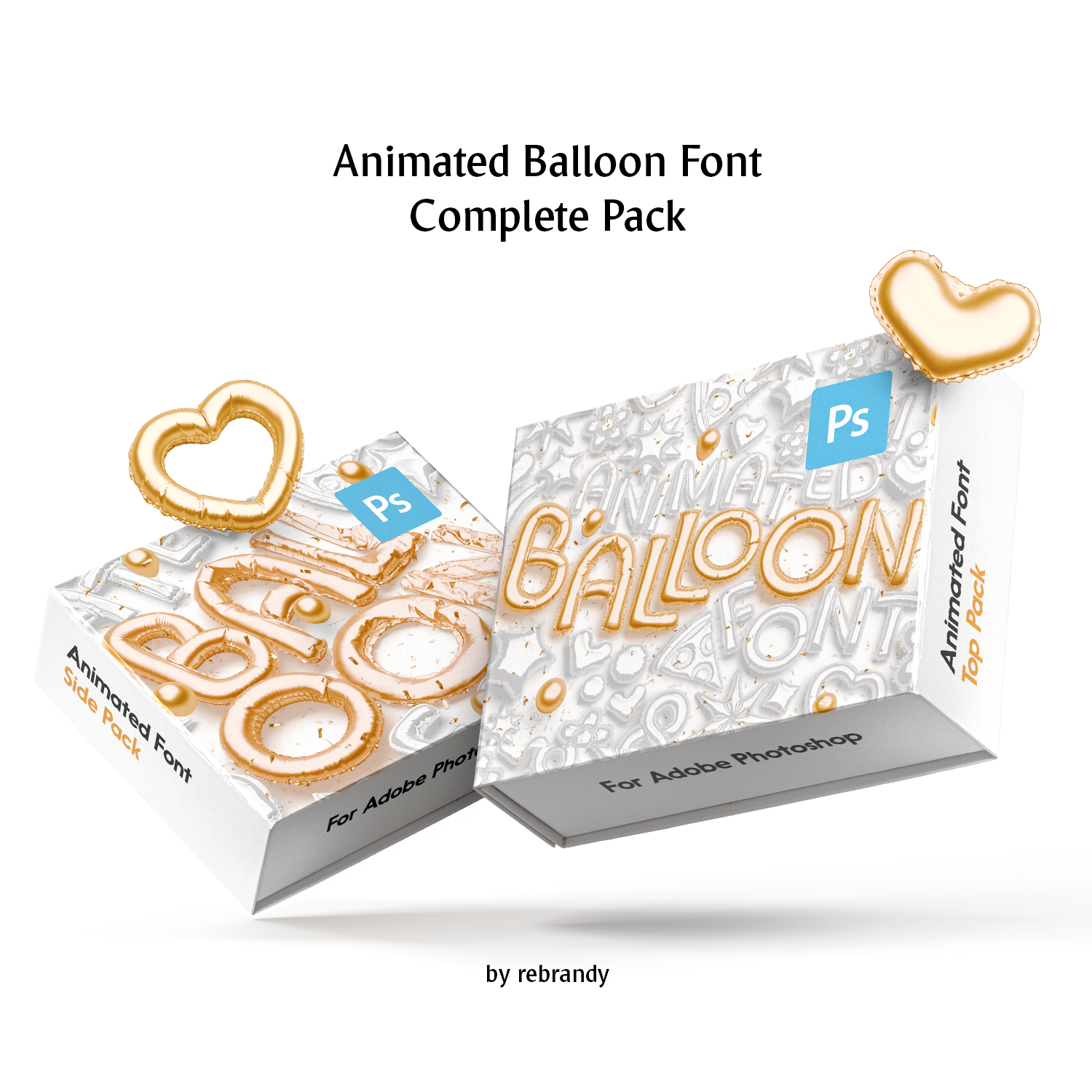 Animated Balloon Font cover image.