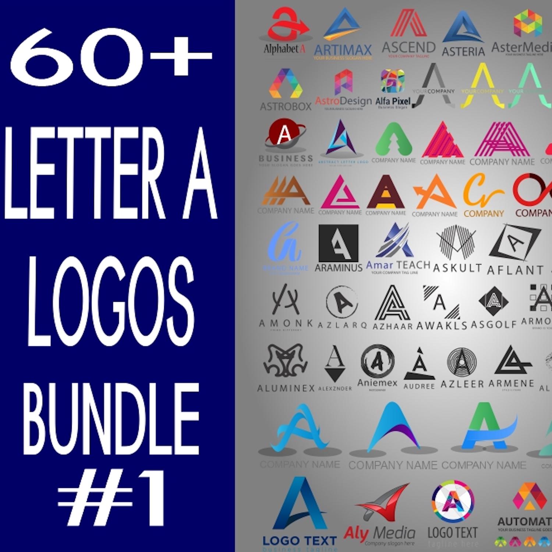 Letter A logo Bundle cover image.