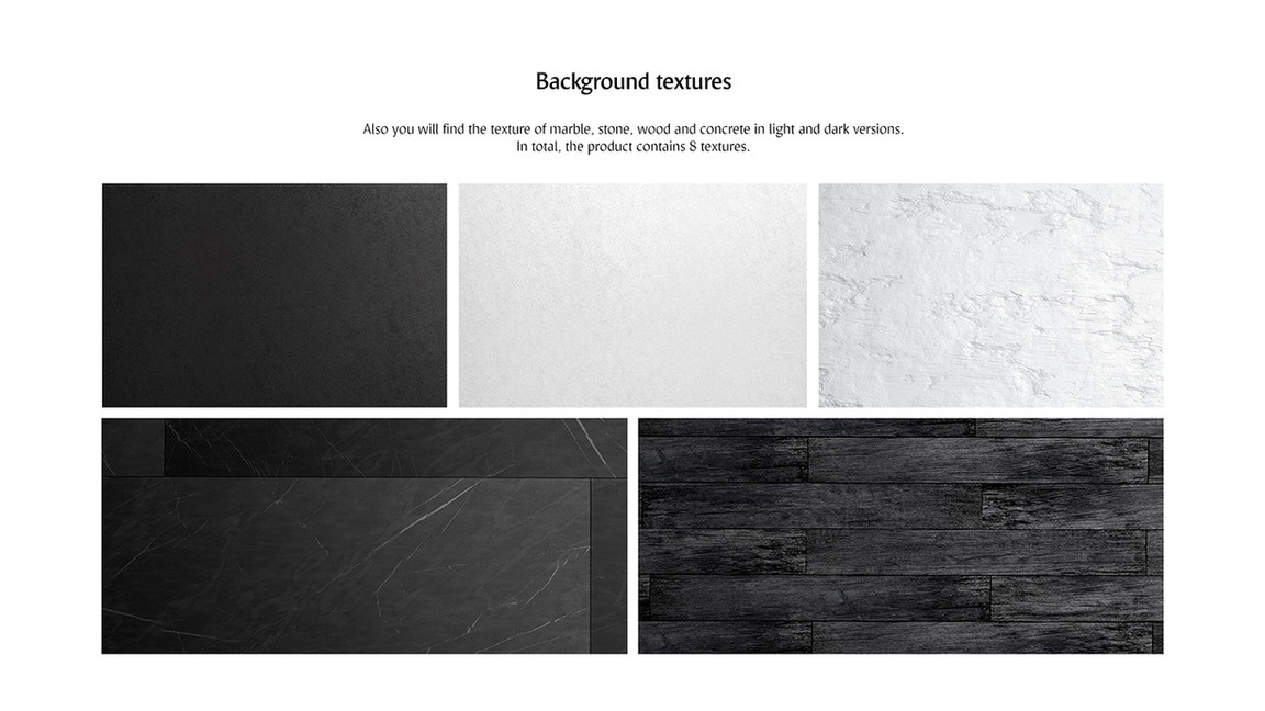 black and white backgrounds.