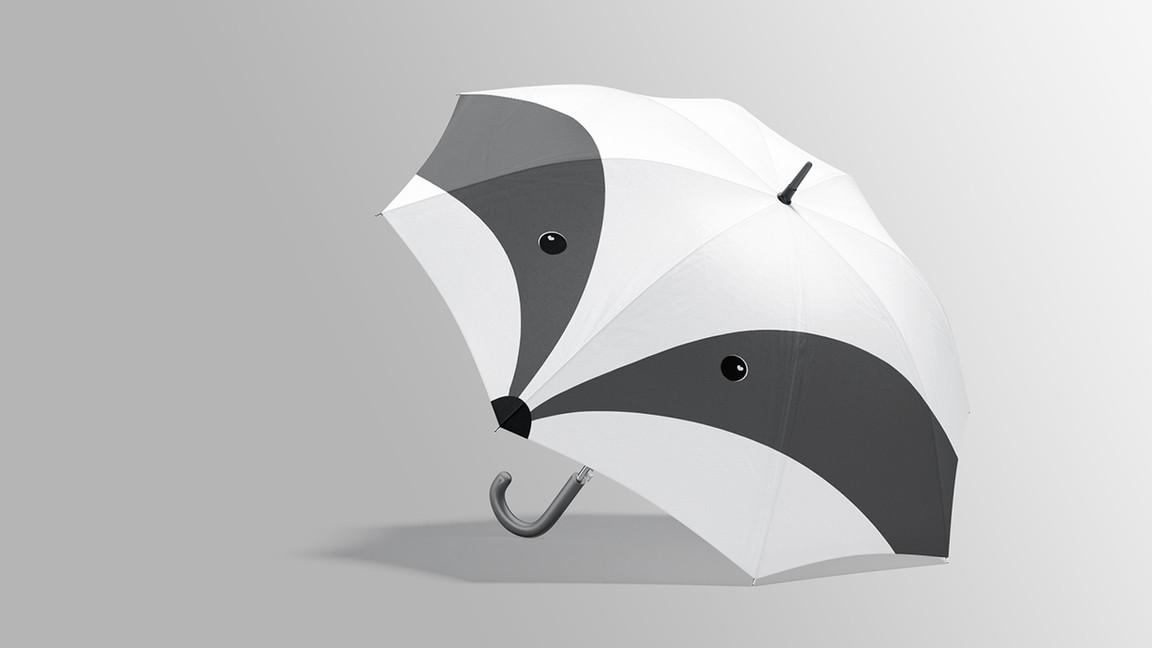 funny Umbrella Mockups Bundle.