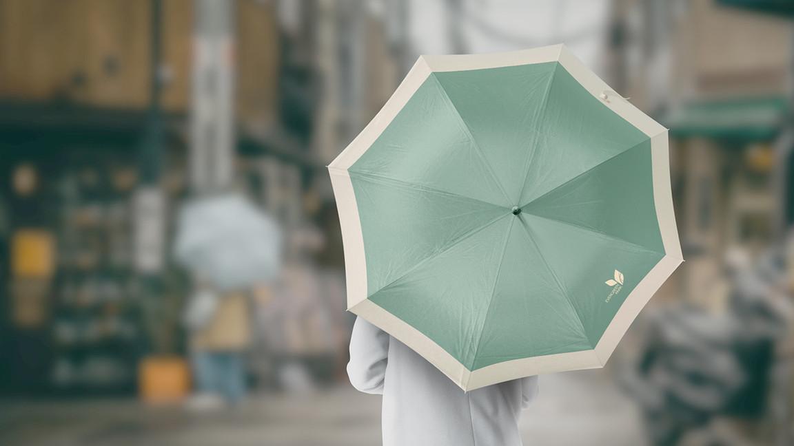 green Umbrella Mockups Bundle.